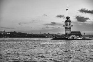 Istanbul , Maiden Tower , Turkey
