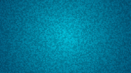 Abstract background of small isometric cubes in light blue colors.