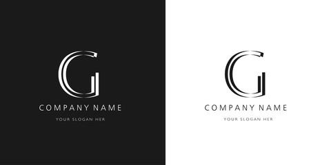 g logo letter design