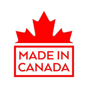 Made in Canada stamp design