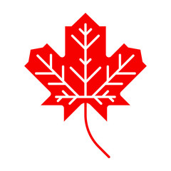 Canadian Maple Leaf Symbol