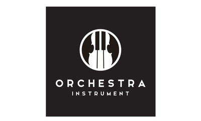 Violin and Piano logo design inspiration
