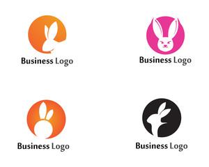 Rabbit Logo template vector icon design template app