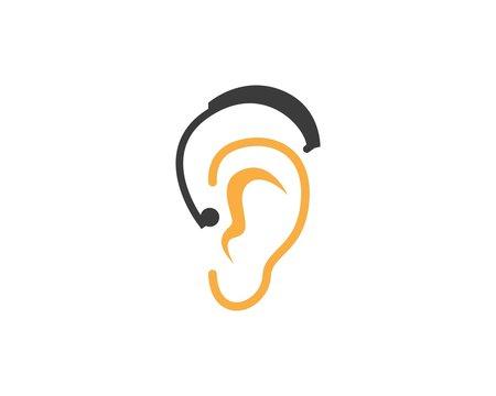 Hear icon  logo design template
