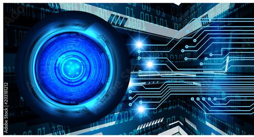 binary circuit board future technology, blue eye cyber