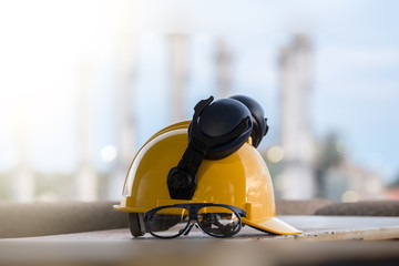 construction safety  background.