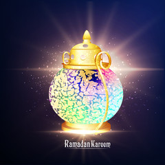 nice and beautiful abstarct or poster for Eid or Ramadan Kareem with nice and creative design illustration.
