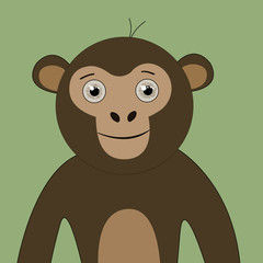 monkey T-shirt graphics cute cartoon characters cute graphics for kids