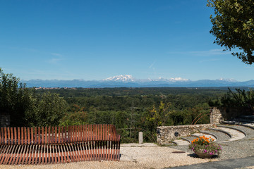 Il balcone sulla Valle del Ticino di Tronavento, Lonate Pozzolo, Varese, Lombardia, Italia