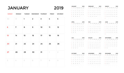 Calendrier 2917.2019 Calendar Photos Royalty Free Images Graphics Vectors