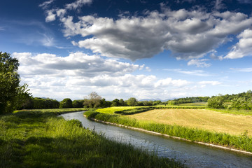 irrigation canal in the country