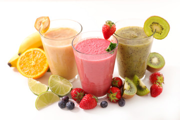 assorted juice or smoothie