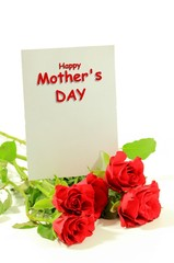 Happy Mothers Day Beautiful Greeting Card Background with flowers