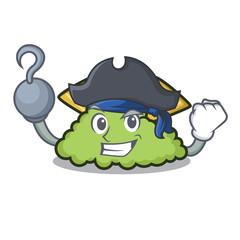 Pirate guacamole character cartoon style