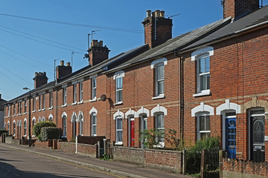 Victorian Terrace Houses in the UK