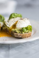 Poached Egg Avocado Toast