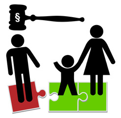 Father loses child custody. The family court transfers the sole custody to the mother after divorce