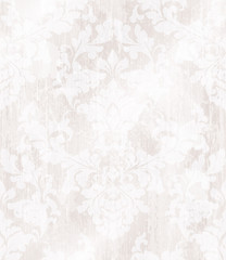 Baroque ornament wallpaper background. Vector delicate pattern. Royal pink decorations tile