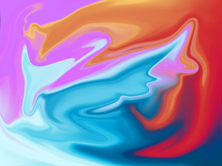 abstract painting colorful background illustration