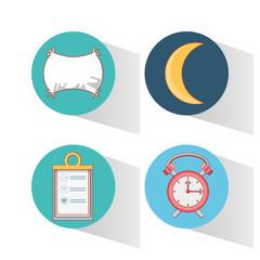 healthy lifestyle set icons vector illustration design