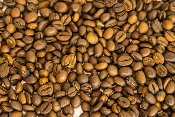 beans coffee beans close-up, texture, roasted coffee