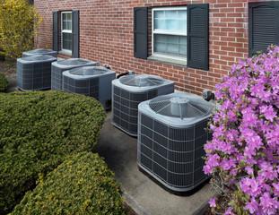 High efficiency modern AC-heater units, energy save solution-horizontal