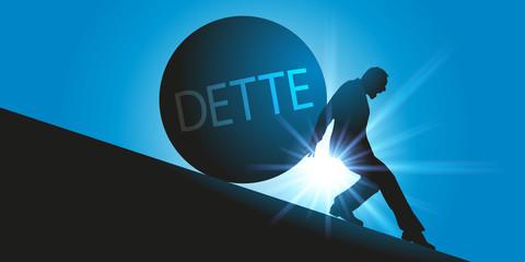 dette - crédit - emprunt - prêt - endettement - banque - immobilier - rembourser - faillite - endetté