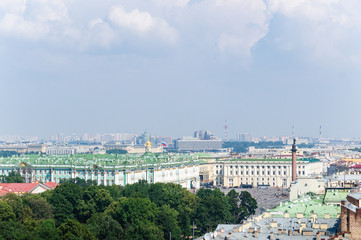 View of the Palace Square in St. Petersburg