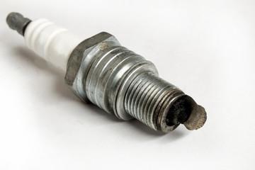 old used spark plug