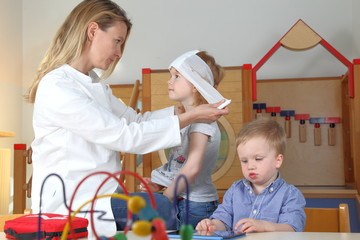 Unfall und Erste Hilfe im Kindergarten