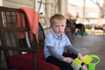 Grumpy Preschooler