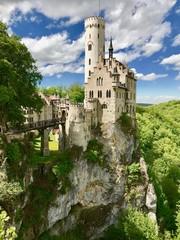 Schloss Lichtenstein in Honau/Reutlingen (Baden-Württemberg)