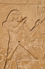 Ancient Egyptian Stonework in Luxor