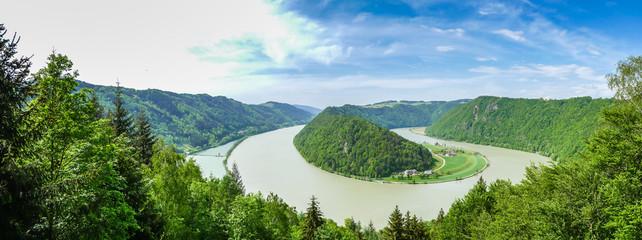 Panorama Schlögener Schlinge - Donautal
