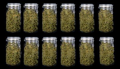 12 Three ounce jars of Indica