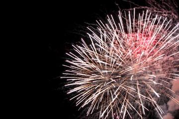 Feuerwerk bunt