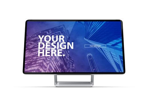 Desktop Computer Mockup