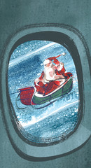 Santa sighting