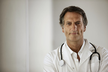 Portrait of male doctor.