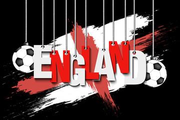 Banner the inscription England