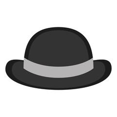 Gentleman hat icon