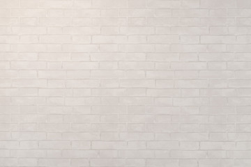 White brick stone wall seamless background and texture.