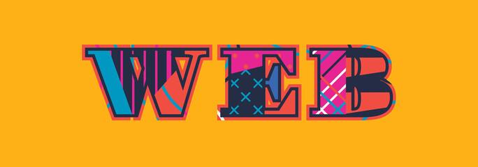 Web Concept Word Art Illustration