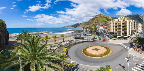 Wall Mural - Ribeira Brava town, Madeira island, Portugal