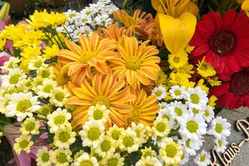 Beautiful colorful bouquet