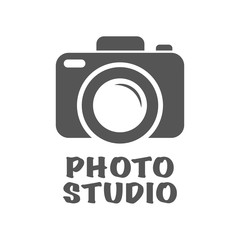 Camera Icon in trendy flat style isolated on white background. Camera symbol for your web site design, logo, app, UI. Vector illustration. EPS10.