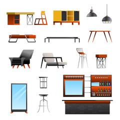 Loft Cafe Constructor Set