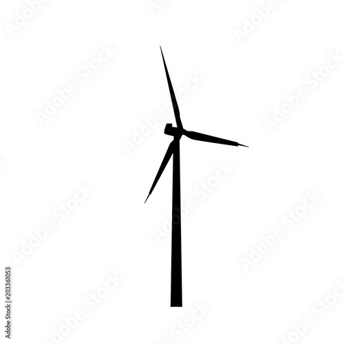 windmill silhouette icon stock image and royalty free vector files