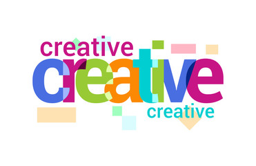Creative Overlapping vector Letter Design