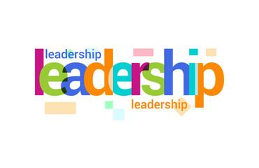 Leadership Overlapping vector Letter Design